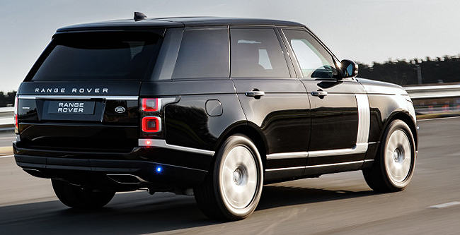 RANGE ROVER SENTINEL: Heavyweight protection for potentates and rich folk.