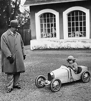 BUGATTI BABY II: Image: Bugatti.