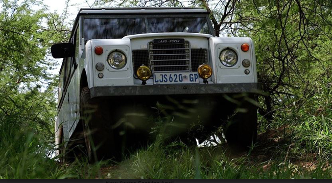 JUP AND OVER: There'll be a lot of this from Series Land Rovers at the coming weekend festival in Gauteng. Image: Supplied