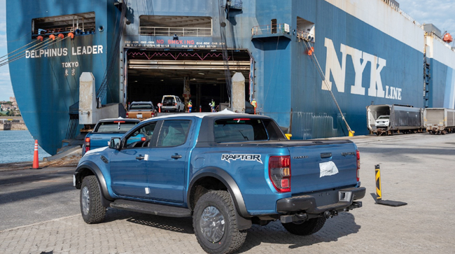 ALL ABOARD! Ford SA has changed its operations to cater for growing demand for its Ranger products to be exported after manufacture in Pretoria. Image: Ford SA